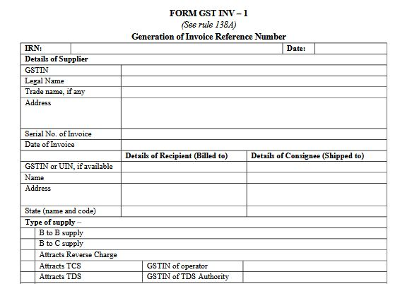 Gst Invoice Format In Excel Word And Pdf For Services Rules Formula