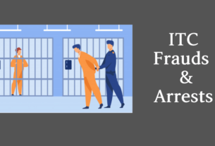 gst itc fraud and arrest