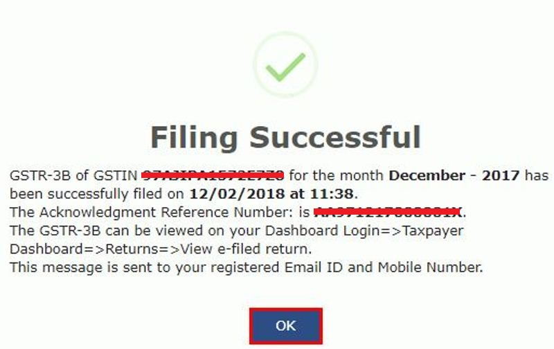File GSTR 3B with EVC 2 pic