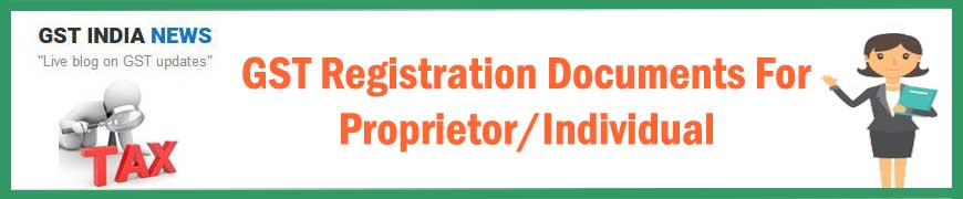 image for documents required for gst registration