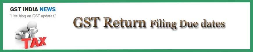 GST Return Dates for 2019 - GSTR 3b due date, GSTR 2 due