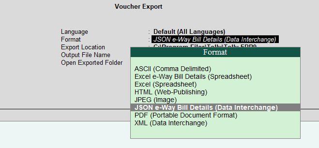 Bulk E way Bill Generation Tool - Excel to Json Latest Version 1 0 0219