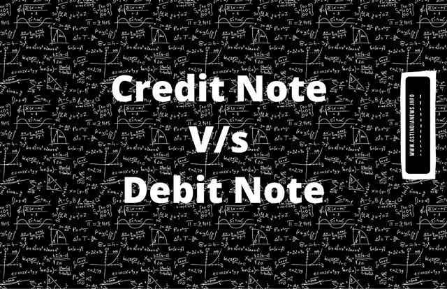 image for credit v/s debit note