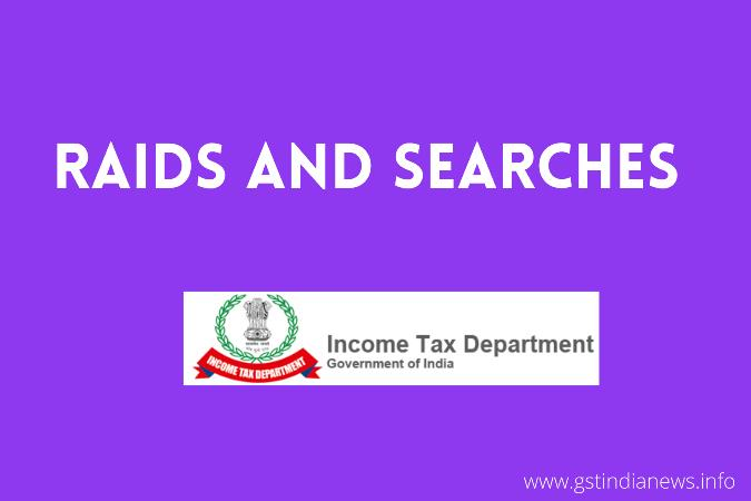 income tax raid today in india