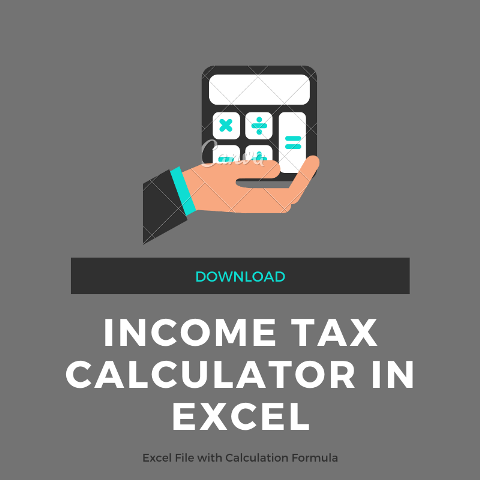 income tax calculation formula in excel